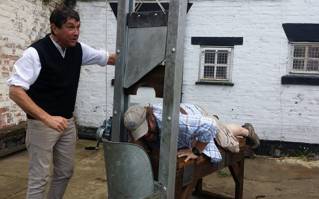 Executions Day at DERBY GAOL – Saturday 27th Bring the Kids