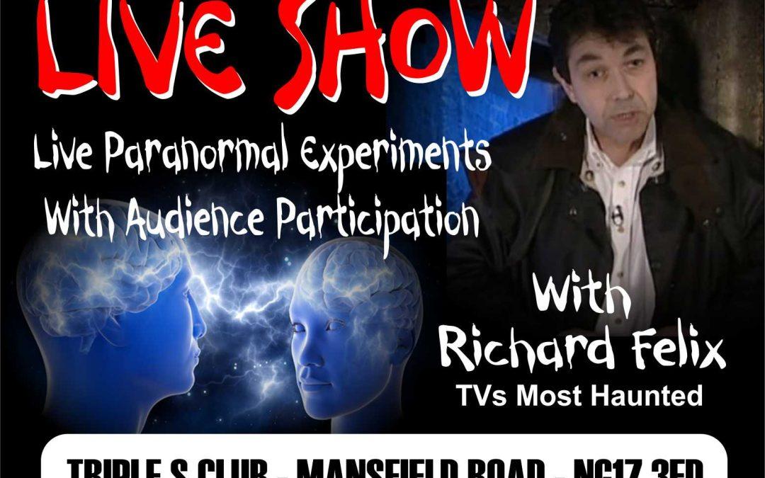 ghost supernatural or science Richard Felix poster