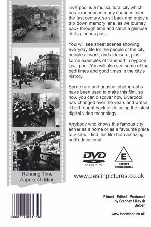 Liverpool local history video dvd cover